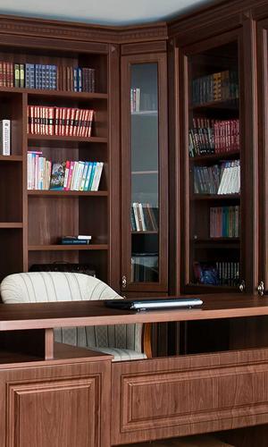 Библиотека из массива дерева на заказ