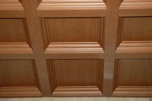 Простые потолки кесонные