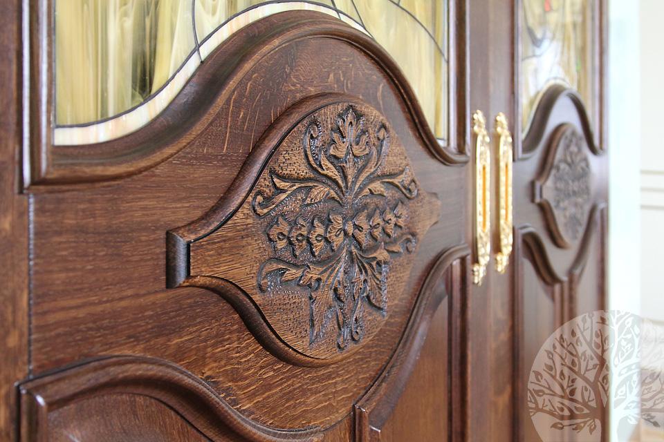 Входные деревянные двери - входные двери из массива дерева