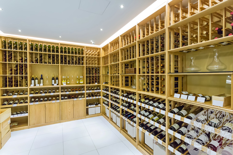 Стеллажи под бутылки вина