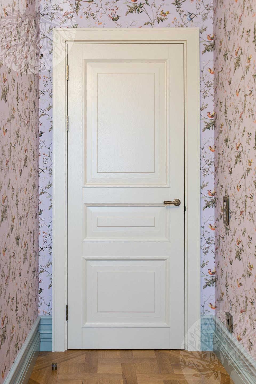 белые деревянные двери межкомнатные производство в москве