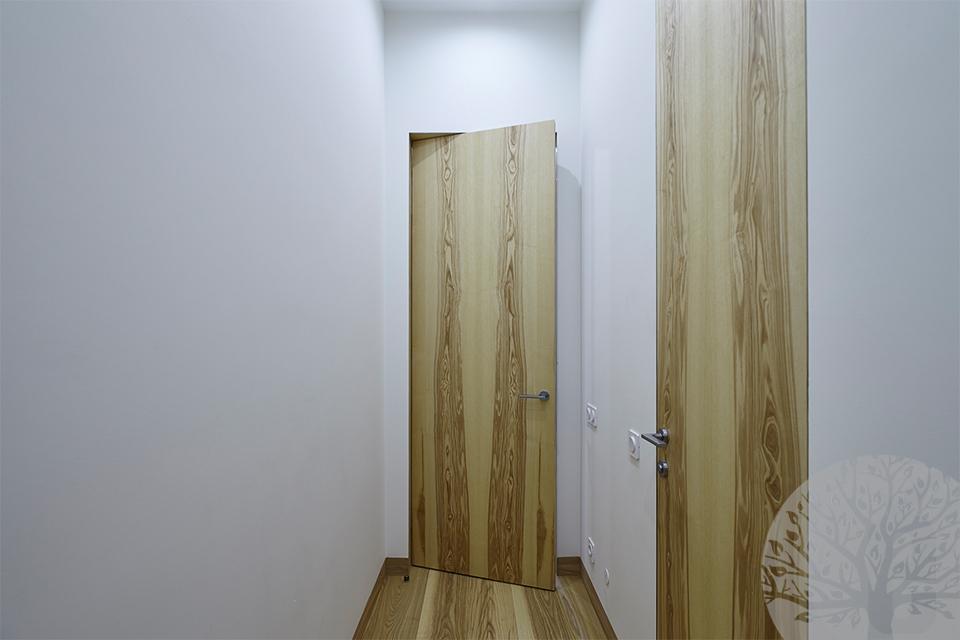 Двери из шпона редких пород