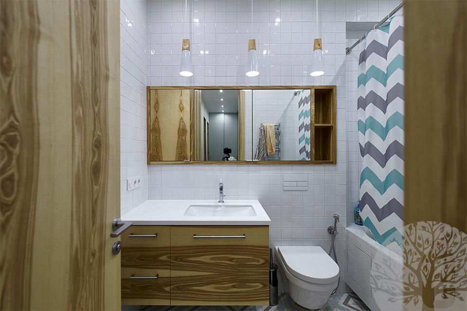 Ванная комната изнутри